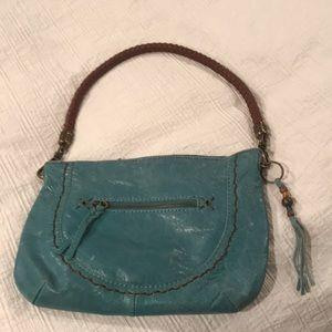 SAK | Distressed Leather Shoulder Bag